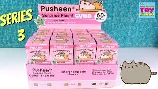 Pusheen Series 3 Blind Box Surprise Plush Gund Places Cats Sit Unboxing   PSToyReviews