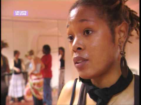 Cours de Gwo Ka, danse de la Guadeloupe avec Patricia Colombo à Caribailes