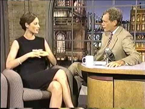 Christy Turlington • David Letterman 1994
