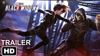 Viuva Negra Trailer Oficial (2020) | BLACK WIDOW TEASER SDCC 2019