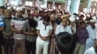 জাতীয় মসজিদ বায়তুল মোকাররমে শহীদ মাওলানা নিজামীর গায়েবানা জানাযা অনুষ্ঠিত