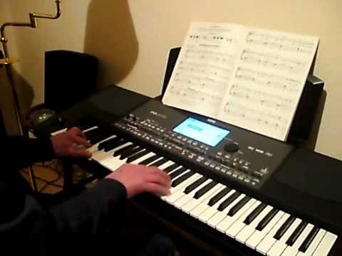 Korg PA600 Swing Cover I Left My Heart In San Farncisco