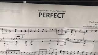 Perfect Ed Sheeran With A La La Twist Arranged By Jon Schmidt