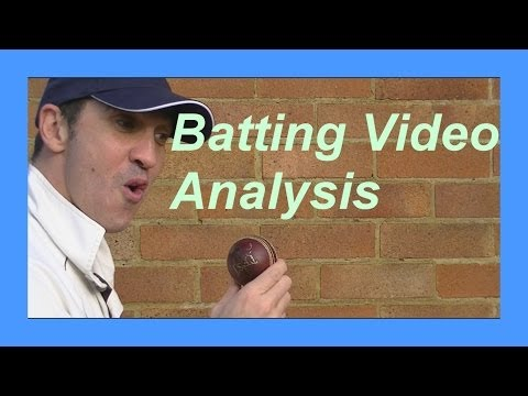 Hd Cricket Video Analysis Batting Coaching For Coaches Pt 1 video