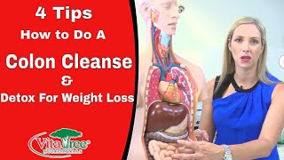 4 Tips how to do a Colon Cleanse : Detox for Weight loss - VitaLife Show Episode 153
