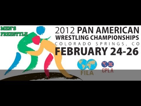2012 Pan Am Wrestling Championships - Men's Freestyle Mat A Image 1