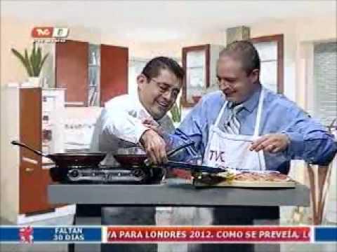 Receta: Tapas Españolas 'a la Alcalá' (26-06-2012)