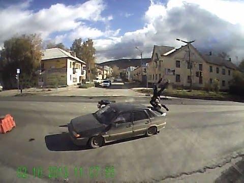 ДТП с мотоциклистом в Миассе