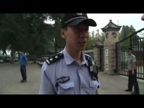 Heavy Beijing security presence on Tiananmen anniversary