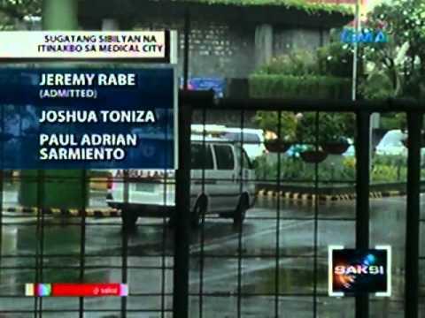 Saksi: Isa sa mga gwardyang nabaril ng mga holdaper. dead on arrival sa ospital