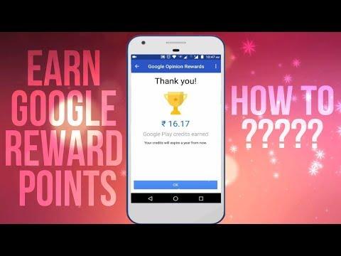 How to Earn google opinion reward points | Full tutuorial | Hindi |