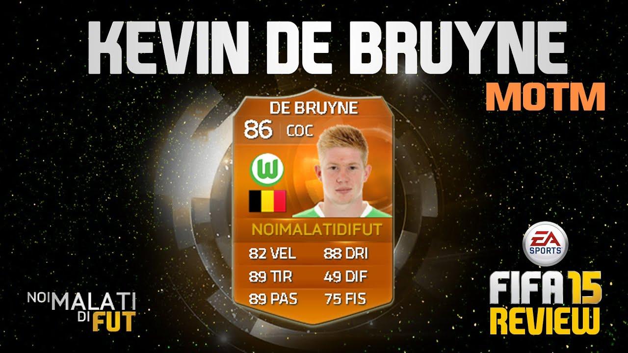 Kevin De Bruyne MOTM FIFA 15 - 87 Номинальный - FUTWIZ