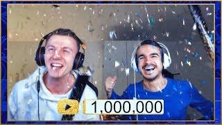 1.000.000 Abonnenten LIVE REAKTION 🌟🌟 | FeelFIFA