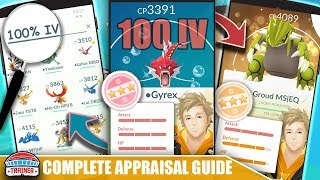 SEARCH FOR IV'S! THE COMPLETE GUIDE FOR THE NEW APPRAISAL SYSTEM & NEW IV SEARCH TERMS | POKEMON GO
