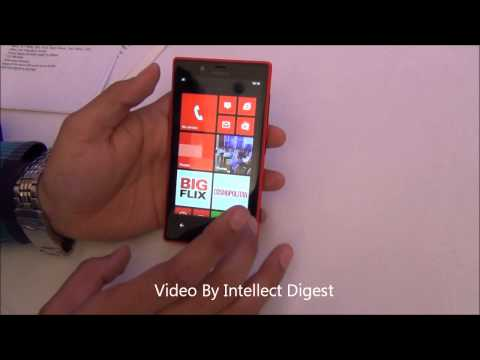 Nokia Lumia 720 Hands On Review. Features And Price In India