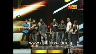 Vijay Awards 2012 Favourite Hero Ajith HD