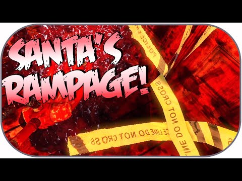 Santa's Rampage Funny Moments: Cleaning Blood, Tnt Presents, Elf Glitch! video