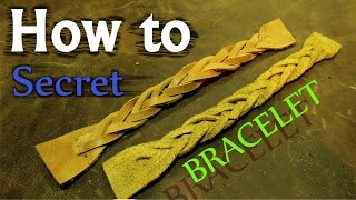 How to tie Trick Secret Plait BRACELET