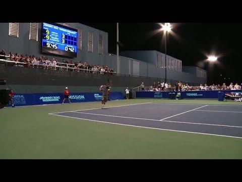 Lundqvist and McEnroe battle Djokovic and Norton