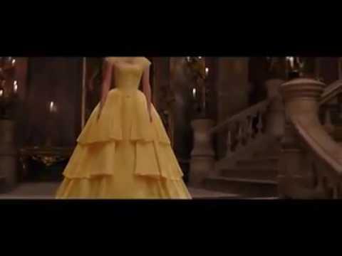Escena de baile . La Bella y la Bestia