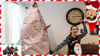 What Did Our Elf On The Shelf Do To Our Christmas Tree? / That YouTub3 Family