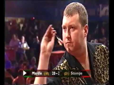 Mardle vs Stompe Darts World Championship 2001 Round 2 Mardle vs Stompe