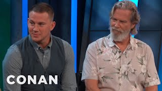"Channing Tatum & Jeff Bridges On Their ""Kingsman"" Characters  - CONAN on TBS"