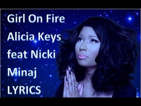 Alicia Keys feat Nicki Minaj  Girl on Fire !LYRI