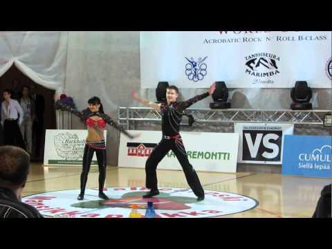 Ana Silaj & Alen Mikic - Europameisterschaft 2012