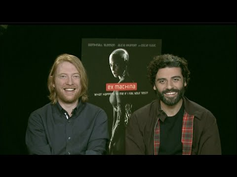 Oscar Isaac & Domhnall Gleeson interview - Ex Machina, Star Wars: The Force Awakens