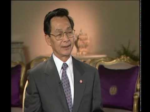 Thai Prime Minister Chuan Leekpai Interview