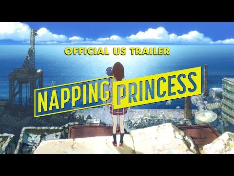 Napping Princess [US Trailer, In Theaters Sept 2017]