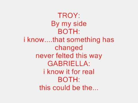 High School Musical Lyrics Tumblr high school musical-start of