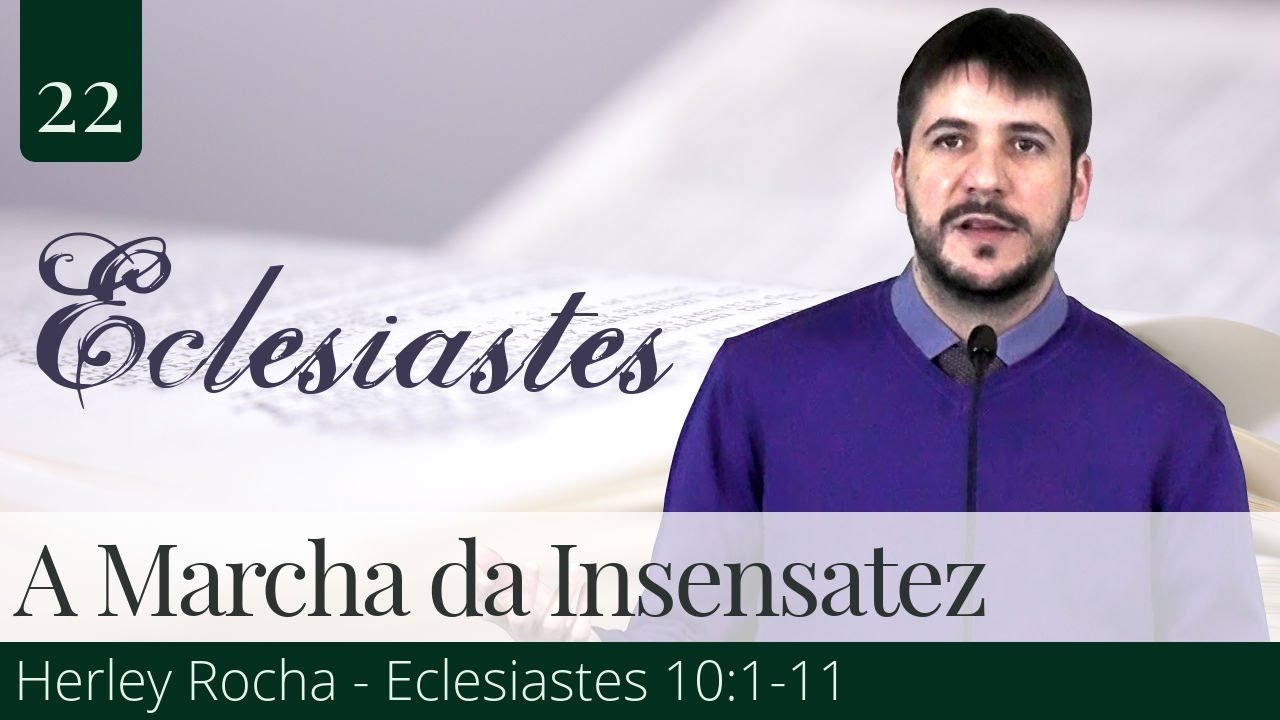 22. A Marcha da Insensatez - Herley Rocha