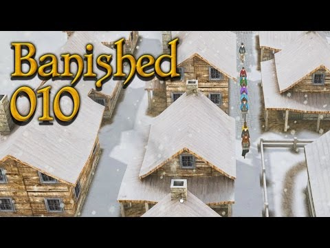 BANISHED [WQHD] #010 - Hafen, Lager, Krankenhaus ★ Let's Play Banished