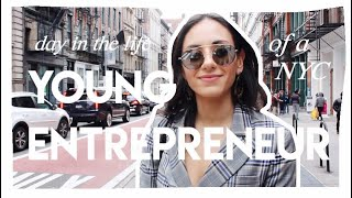Day in the Life of a Young Female Entrepreneur | NYC #GirlBoss | Margot Lee