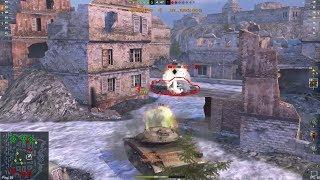 T49 Wot Blitz - лучшие выстрелы!