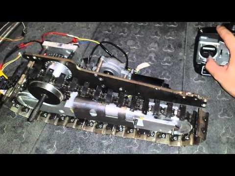 Bulldozer D11 RC TEST