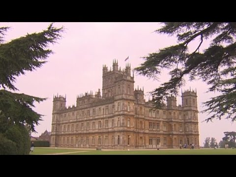 The history of the 'Downton Abbey' castle