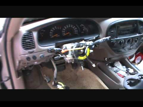 2003 Tundra Gear Shift Lever Repair #1.wmv