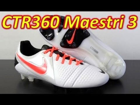 Nike CTR360 Maestri 3 III White/Black/Total Crimson - Unboxing + On Feet