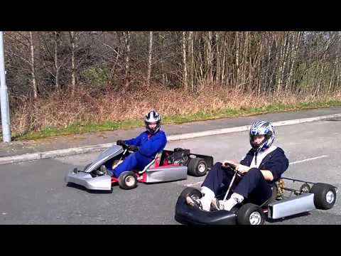 Industrial estate karting Ronby and Gooding