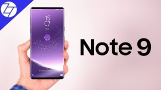 NEW Samsung Galaxy Note 9 - LEAKED!