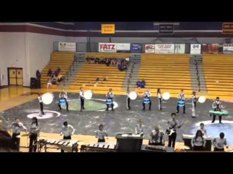 West Ashley high school indoor drumline - White Knoll High