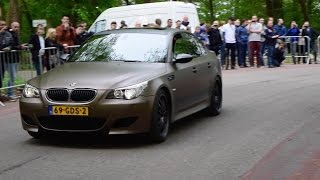 LOUD BMW M5 V10 w/HMS Exhaust System + Custom X-Pipe