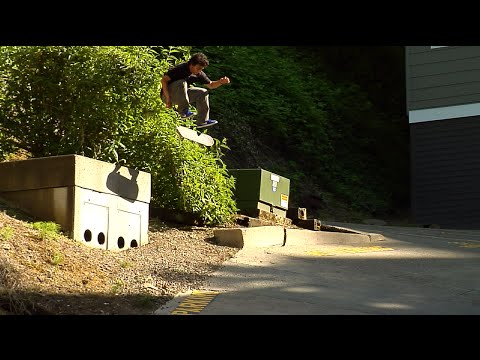FRONTSIDE FLIP TO SWITCH HILL BOMB - ELLIOT MURPHY
