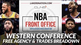 NBA Front Office Podcast: Western Conference Free Agency & Trade Breakdown