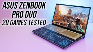 Dual Screen Gaming? ASUS ZenBook Pro Duo Laptop Benchmarks