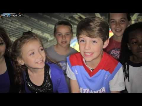 MattyB LIVE at Philips Arena (Atlanta Dream Halftime Show 5/25)