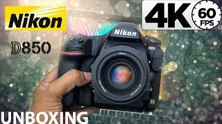 """Nikon D850 + 50mm F1.8 Unboxing - Biggest Camera Update In My Life!!!   In """"4K at 60fps"""""""